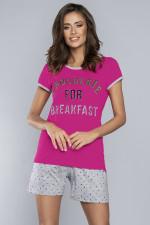 Italian Fashion Coco kr.r.kr.sp. piżama amarant