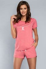 Italian Fashion Surmia kr.r.rk.sp. piżama malina