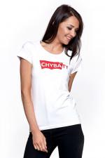 Moraj BD 1100-515 t-shirt z nadrukiem biały
