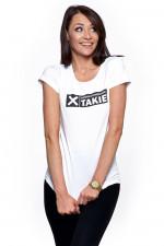 Moraj BD 1100-516 t-shirt z nadrukiem biały