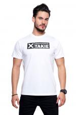 Moraj OTS1200-516 t-shirt z nadrukiem biały