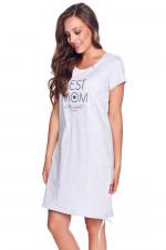 Dn-nightwear TCB.9081 koszula grey