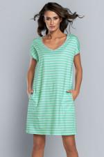 Italian Fashion Britta kr.r. Koszulka pistacja