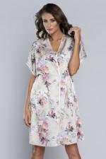 Italian Fashion Iberia kr.r. szlafrok szary