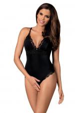 Obsessive Arisha teddy Sexy czarny