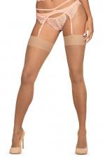 Obsessive S800 stockings Klasyczne beżowy