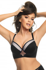 Gorsenia K565 Vicky push-up czarny