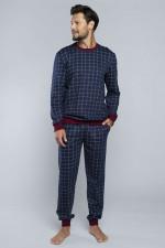 Italian Fashion Błażej dł.r.dł.sp. piżama granat
