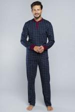 Italian Fashion Osvald dł.r.dł.sp. piżama granat