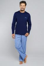Italian Fashion Kryspin dł.r.dł.sp. piżama granat/druk