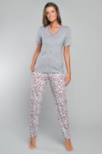 Italian Fashion Bimala kr.r. dł.sp piżama melanż/druk