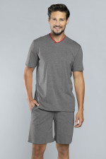 Italian Fashion Brend kr.r. 1/2 sp. piżama melanż