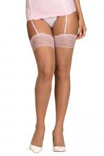 Obsessive Girlly stockings Klasyczne beżowy