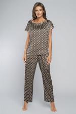 Italian Fashion Elipsa kr.r. dł.sp. piżama druk