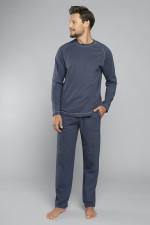 Italian Fashion Ekspert dł.r. dł.sp. piżama granat