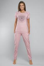 Italian Fashion Eliksir kr.r. dł.sp. piżama róż