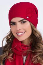 Kamea Malwa Czapka czerwony