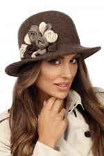 Willi Zamit kapelusz melanżowy brąz
