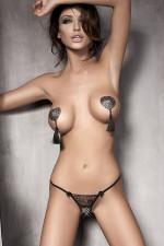 Anais Evita stringi czarny