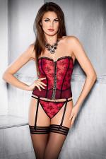 Tessoro 222 Scarlet Madame kostium czerwony