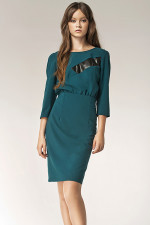 Nife S38 sukienka zielony
