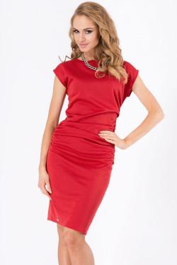 Makadamia M177 Sukienka czerwony