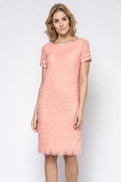 Ennywear 230155 Sukienka koral-beż