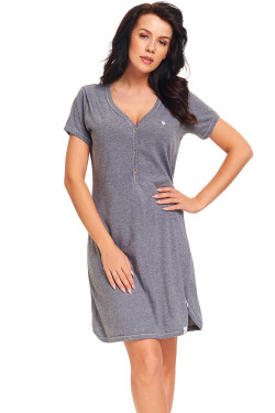 Dn-nightwear TM.9301 Koszula dark grey
