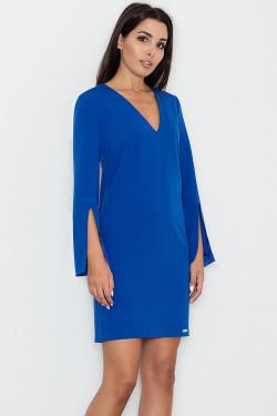 Figl M550 Sukienka niebieski
