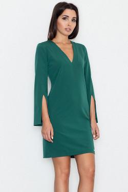 Figl M550 Sukienka zielony