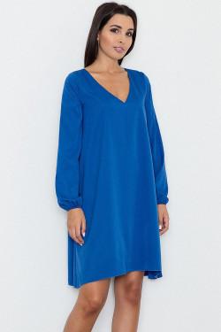 Figl M566 Sukienka niebieski