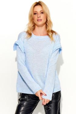 Makadamia S50 Sweter błękitny
