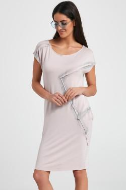 Ennywear 250070 Sukienka różowy