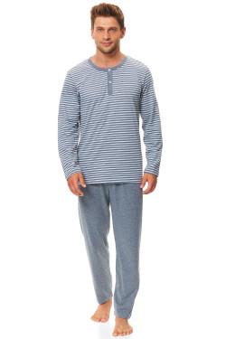 Dn-nightwear PMB.9519 Piżama dark grey