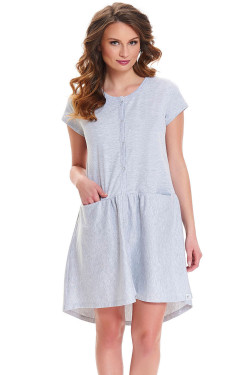 Dn-nightwear TCB.9445 Koszula grey melange