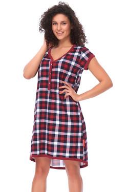 Dn-nightwear TM.9620 Koszula dark red