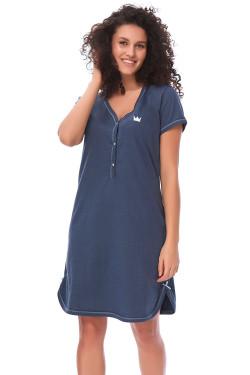 Dn-nightwear TCB.9505 Koszula deep blue