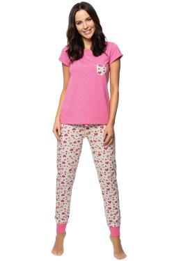 Rossli SAL-PY-1141 Piżama różowy