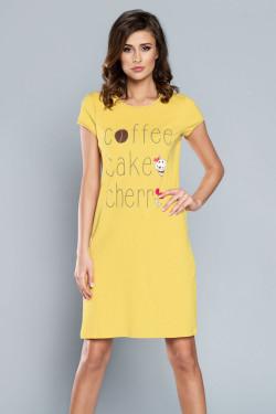 Italian Fashion Toffi kr.r. Koszula żółty