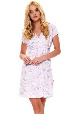 Dn-nightwear TCB.9394 Koszula light pink