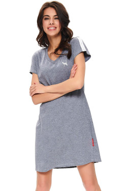 Dn-nightwear TM.9721 Koszula dark grey