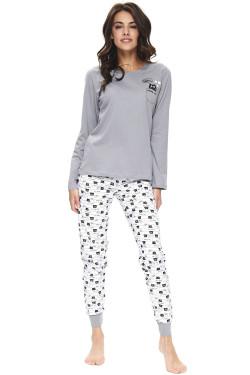 Dn-nightwear PM.9724 Piżama grey