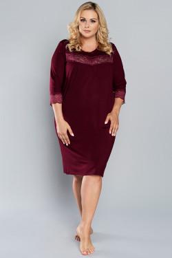 Italian Fashion Izyda r.3/4 Koszula bordo