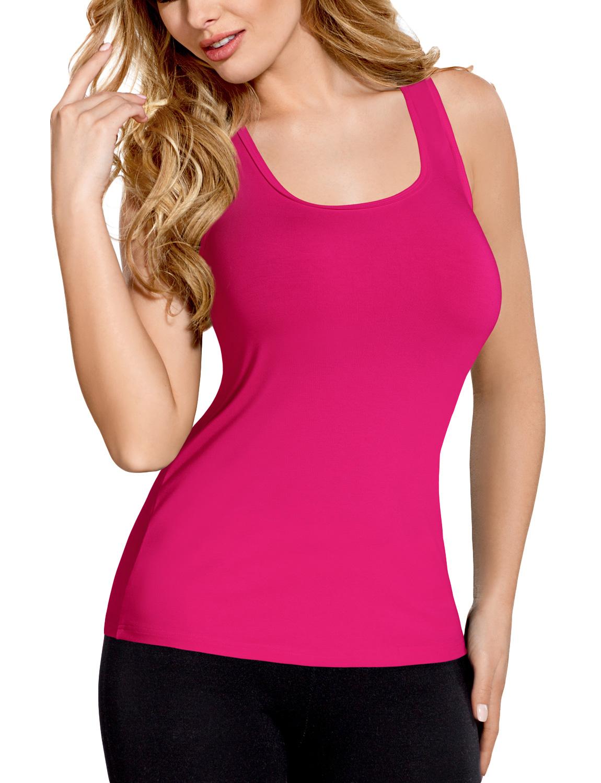 Vestiva-BLV-017-maglietta-sportiva-senza-manica-monocolorata-aderente