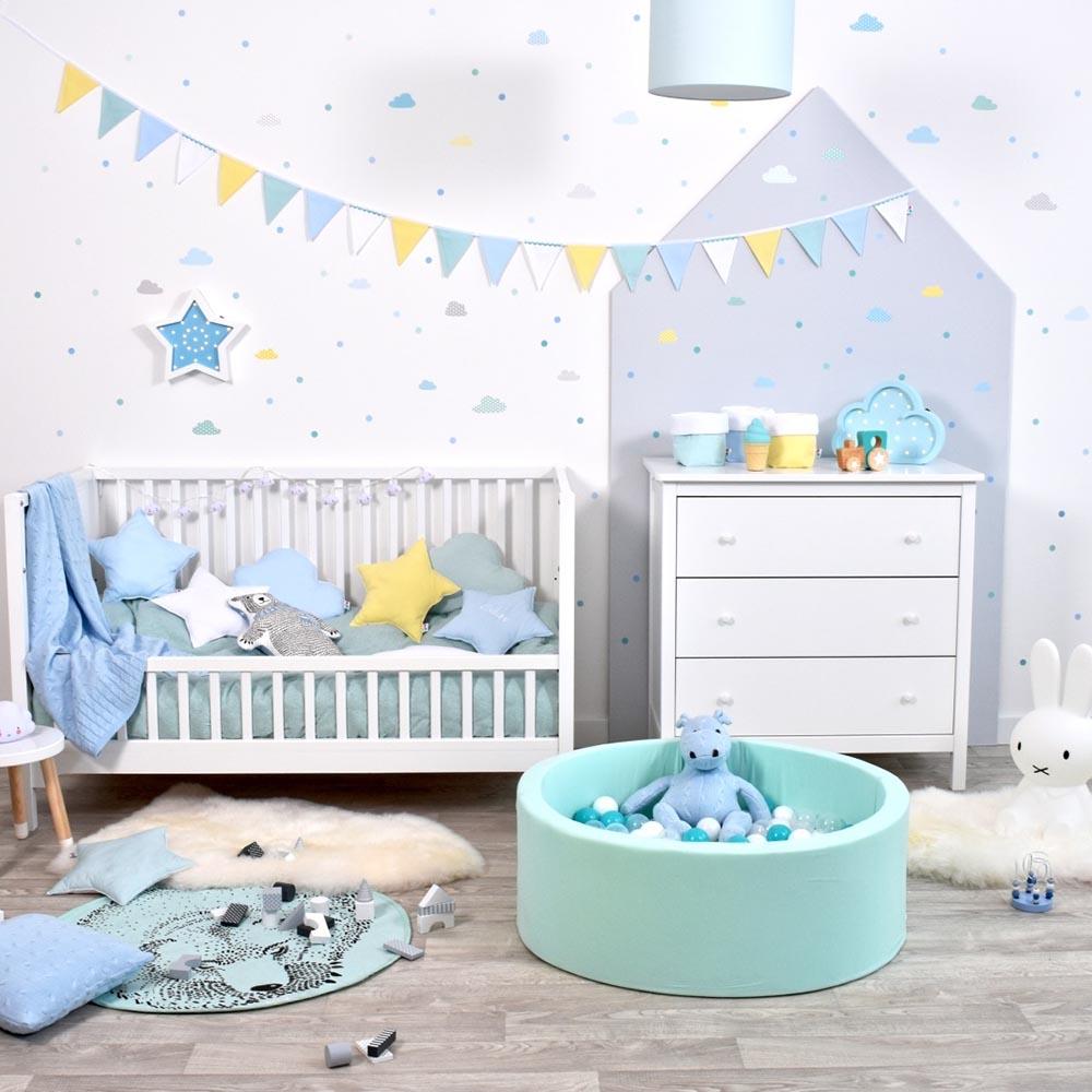 Meowbaby piscine balles pour enfants rond 90x30 200 for Piscine de balle pour bebe