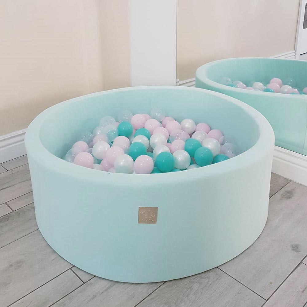 meowbaby piscine balles pour enfants rond 90x30 200. Black Bedroom Furniture Sets. Home Design Ideas