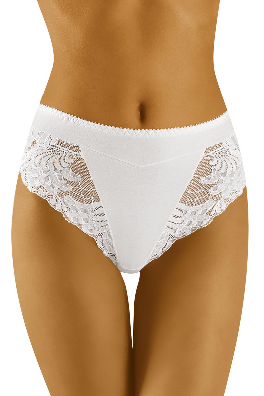 Wolbar Damen Hoher Slips Spitze Bund Klaassischer Pants Unterhose WB408