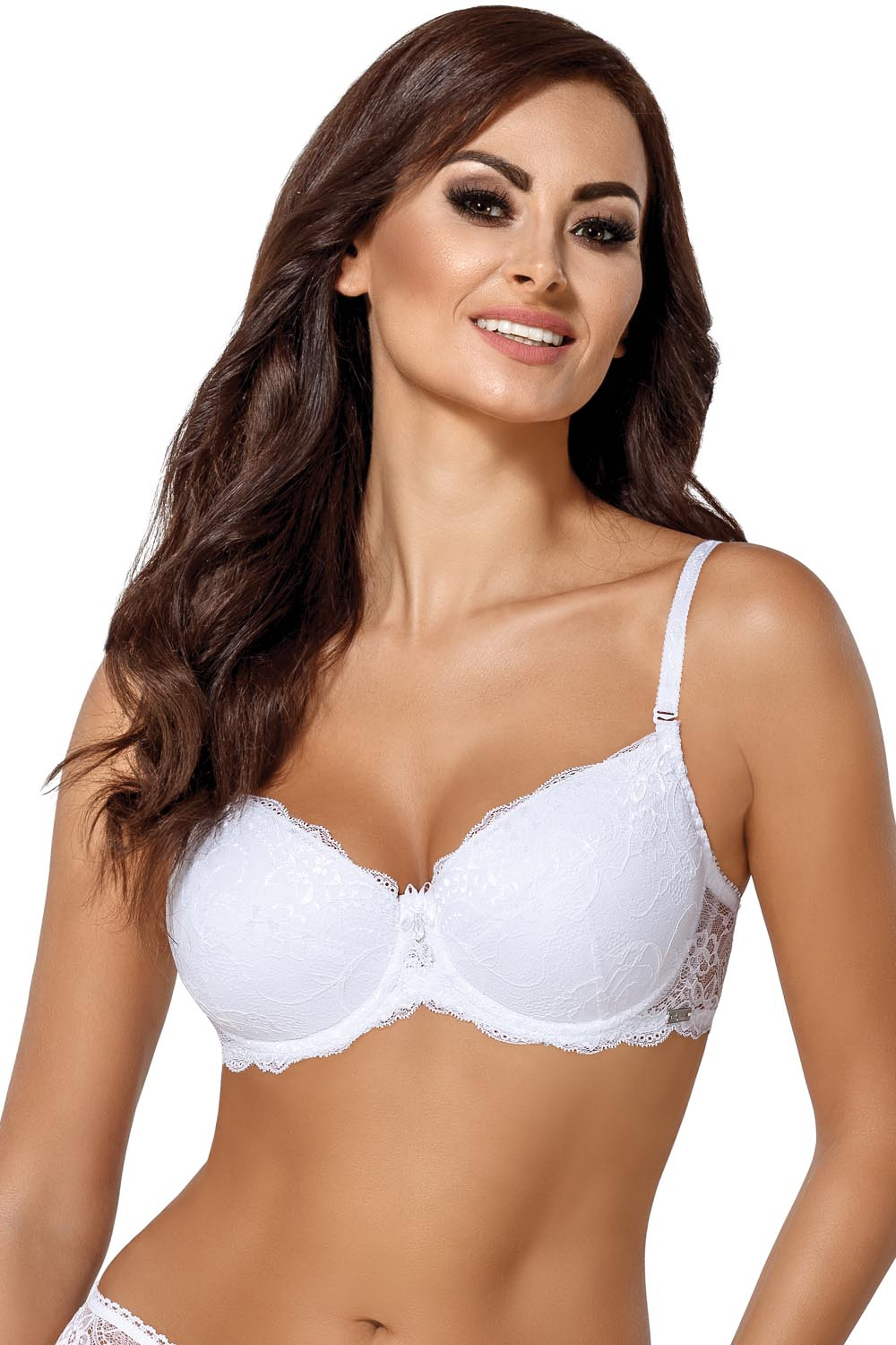 1b6460673d Ava underwired lace padded push-up bra 1638 Vicky
