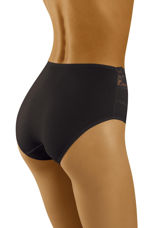 Wolbar Damen Slip Unterhose Unterwäsche Baumwolle Spitze hoch WB415