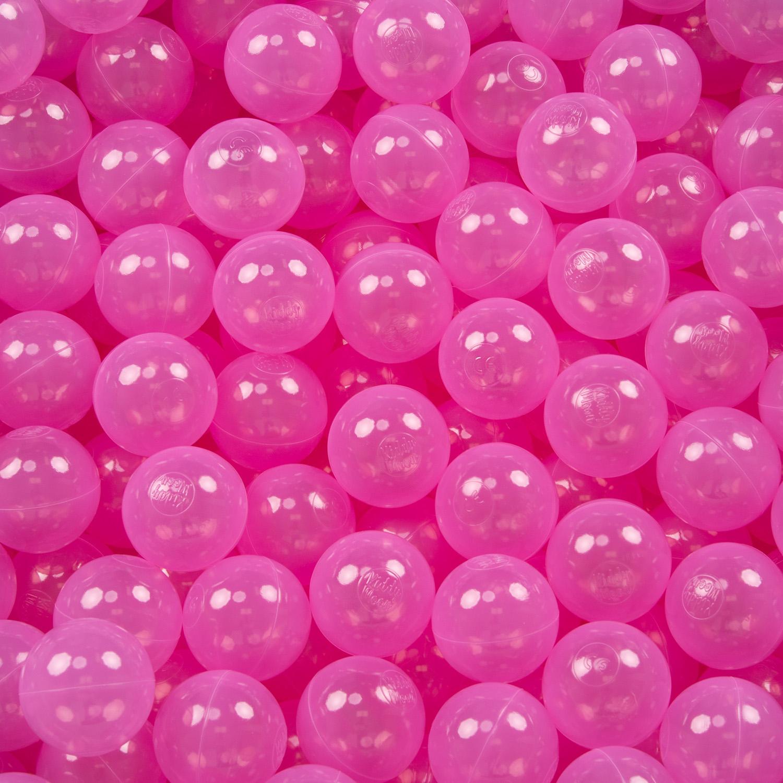 Beige KiddyMoon 50 /∅ 7Cm Kinder B/älle Spielb/älle F/ür B/ällebad Einfarbige Plastikb/älle Made In EU